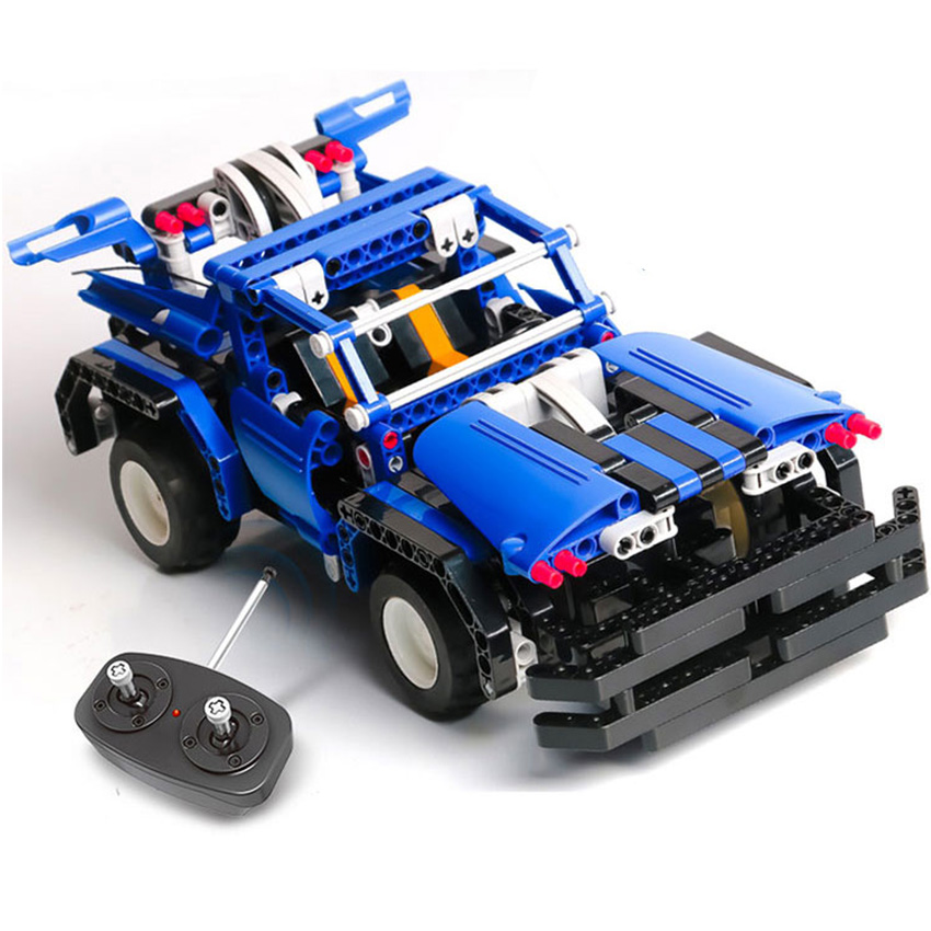 443pcs 2in1 Transform Car Assemble RC Car Building Blocks Car Kit RC Track Race Car Set education Toys Gift for children boy glow race track bend flex glow in the dark assembly toy 112 160 256 300pcs slot race track 1pc led car puzzle educational toys