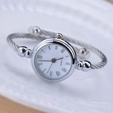 Simple silver women watches elegant small bracelet female clock 2018 BGG fashion brand roman dial retro ladies wristwatches gift