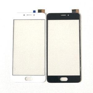 Image 1 - Сенсорный экран для Meizu M6, дигитайзер сенсорного экрана 5,2 дюйма, ЖК дисплей, переднее стекло, объектив, запасные части для телефона