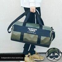 2018 Sports Bag Large Campacity Men Women Fitness Waterproof Training Gym Shoulder Handbag Nylon Travel Bag