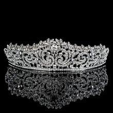 Topwedding Rhinestones Nupcial Celada de La Boda Tiara de La Corona, mujeres