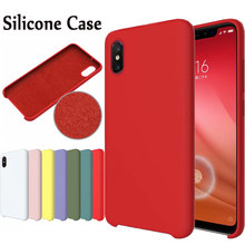 HYSOWENDLY Macaron Phone Cases For Redmi 5Plus 6 6A 6Pro Note 5 6 7 Matte Silicone Covers For Xiaomi Mix 2 2s Max 3P 8 8SE Lite(China)