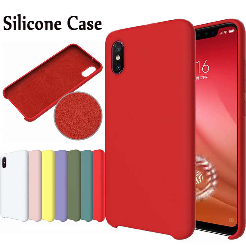 HYSOWENDLY Macaron Phone Cases For Redmi 5Plus 6 6A 6Pro Note 5 6 7 Matte Silicone Covers For Xiaomi Mix 2 2s Max 3P 8 8SE Lite