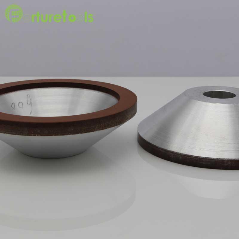 4 tums brinnande diamantkoppshjul för volframkarbid hårdlegering - Slipande verktyg - Foto 3