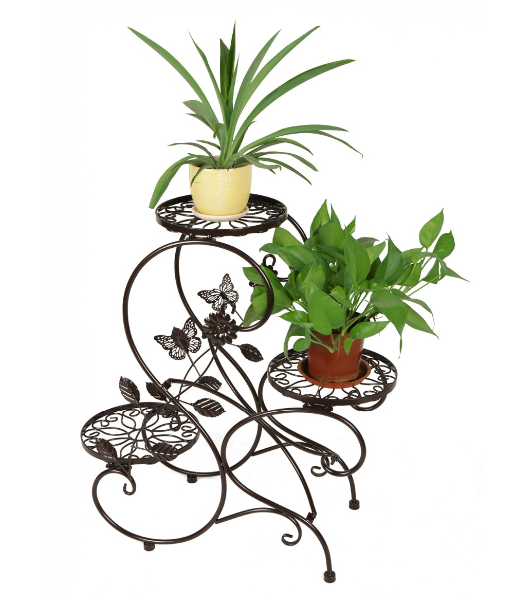 Hlc 3tier Classic Plant Stand With Modern