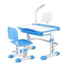 Silla de escritorio de Metal Chaise para pupila altura Ajustable mesa de estudiante con función División Lumbar apoyo sillas niños muebles