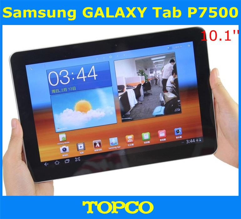 US $205 0 |Samsung P7500 Galaxy Tab 10 1 3G Original Unlocked 3G Dual core  Android Tablet 10 1