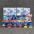 12 estilos de Lilo & Stitch Stitch PVC Figura Modle 6.5 cm Juguetes de Los Niños Para El Regalo O La Decoración Envío Gratis