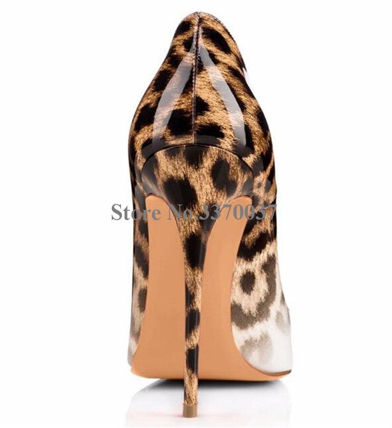 Talon Style Aiguille Femmes Léopard 12 Pointu Picture as Patchwork Couleur Cm Design As Pompes Classique Hauts Robe Talons Gradient Nouveau Bout Picture Chaussures Wxgpq8ztwn