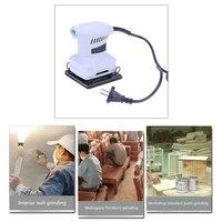 EU Plug 110mm 200W Woodworking Electric Sander For Polishing Grinding Wood Wall Abrasive Power Tool Set