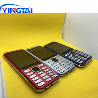 phone screen Oringinal new model YINGTAI S1 Ultra-thin Metal Plating Dual SIM Curved Screen Feature Mobile phone Bluetooth Business Cellphone (4)