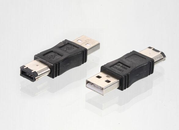 Lot 3x Firewire Ieee 1394 6 Pin To Usb A Adapter ...