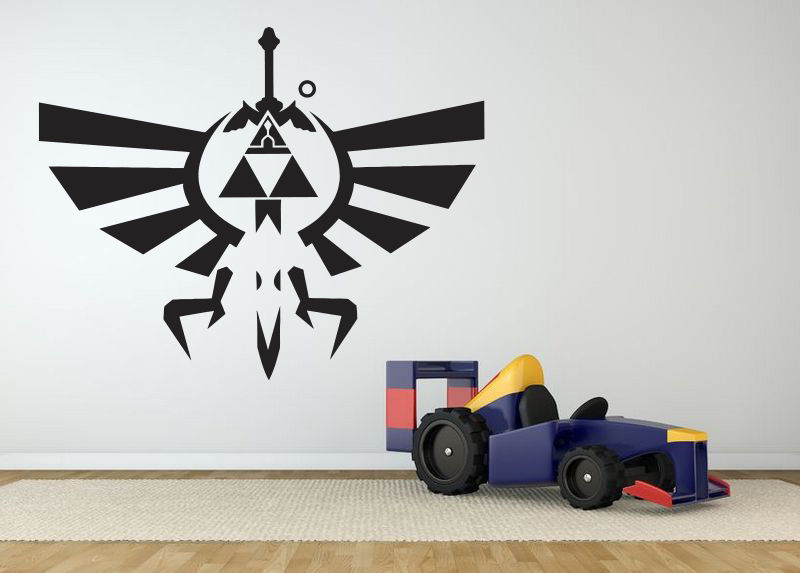 Online get cheap video game wall decals for Cheap wall mural decals