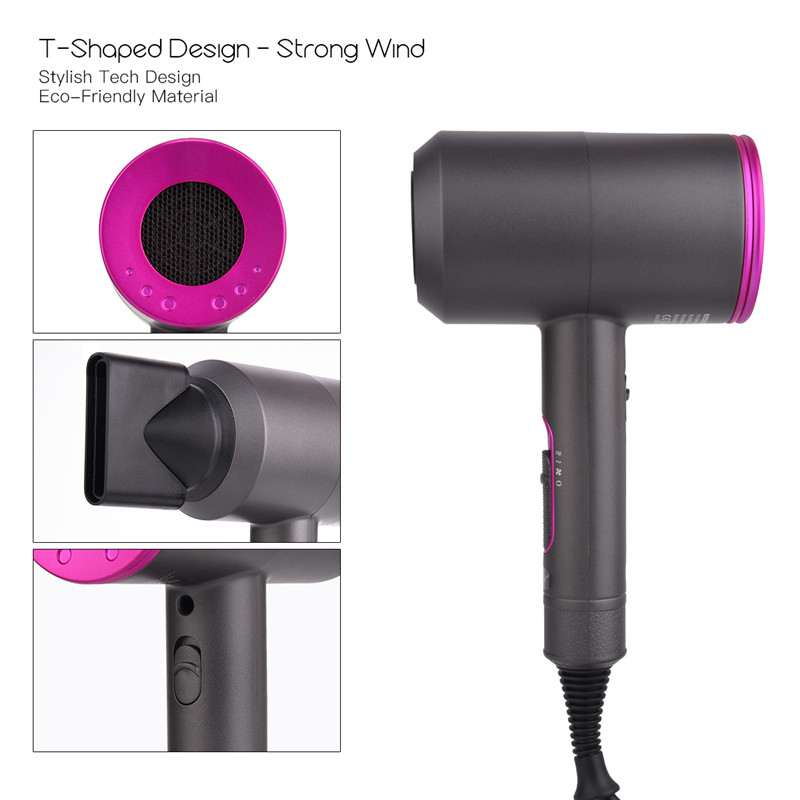 Image 4 - 2000W Hair Dryer Constant Temperature Control Foldable Blow Dryer Quick Drying Travel Hair Blow Dryers Low Noise PK Xiaomi mi 21-in Hair Dryers from Home Appliances