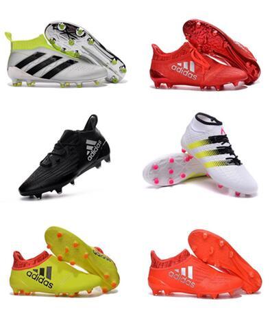 3b41ec5bc8b53 2015 el nuevo x 15 1 FG AG botas de f%25C3%25BAtbol zapatos de futbol  trucos rojo chuteiras adidas aliexpress