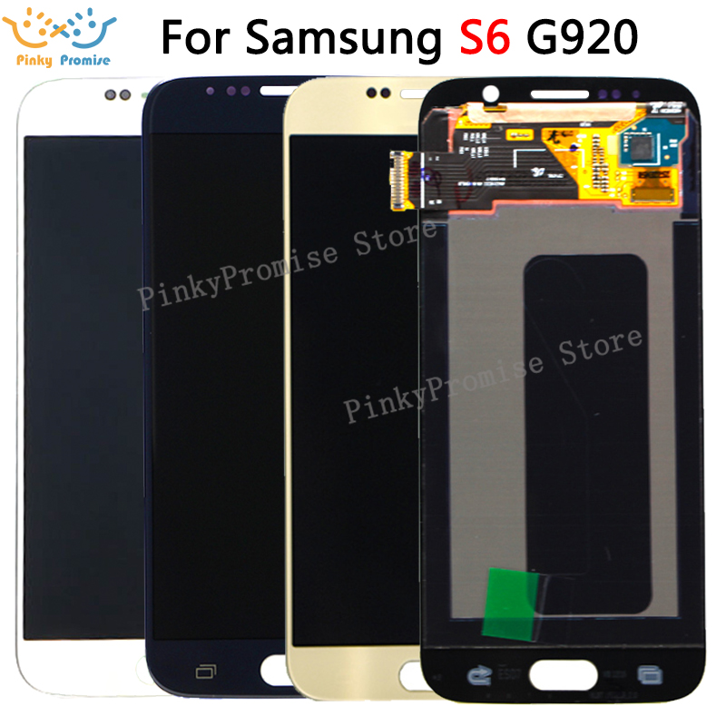 5 1 Super AMOLED Replacement For Samsung Galaxy S6 G920 G920i G920F G920W8 LCD Display With