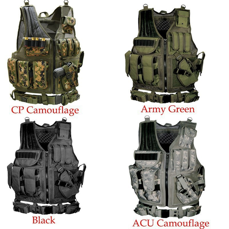 TACTICAL-VEST-TACTICAL-ASSAULT-RESPONSE-COMMANDO-USMC-AIRSOFT-PAINTBALL-SWAT-POLICE-Hunting-Hiking-OUTDOOR-SURVIVAL5-111Tactical (1)
