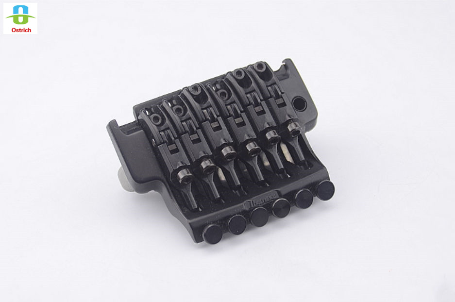 2017 New Products Electric Guitar Locking Tremolo System Bridge For  Black genuine original floyd rose 5000 series electric guitar tremolo system bridge frt05000 black nickel cosmo without packaging