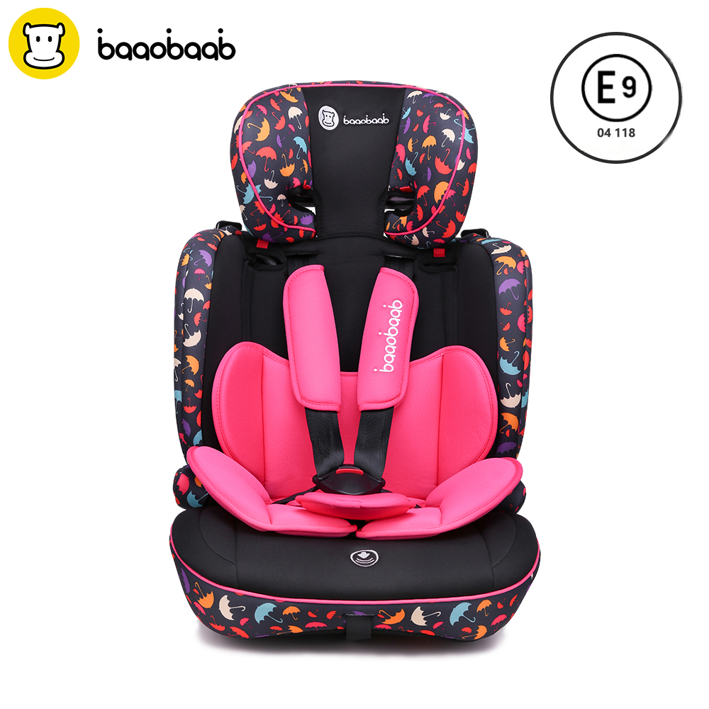 Baaobaab BA05A 9 Month -12 Years Old Child Car Seat Forward Facing 9-36 kg Five-Point Harness Baby Booster Safety Seats car seat