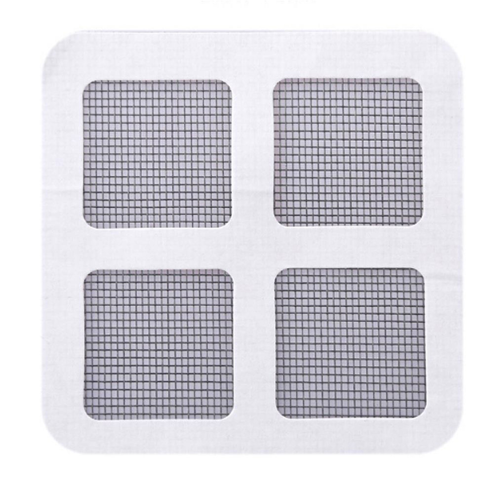 Fix Net Hole In Screen Window Home Adhesive Anti Mosquito Fly Bug Insect Repair Screen Wall Patch Mesh Window Screen Stickers