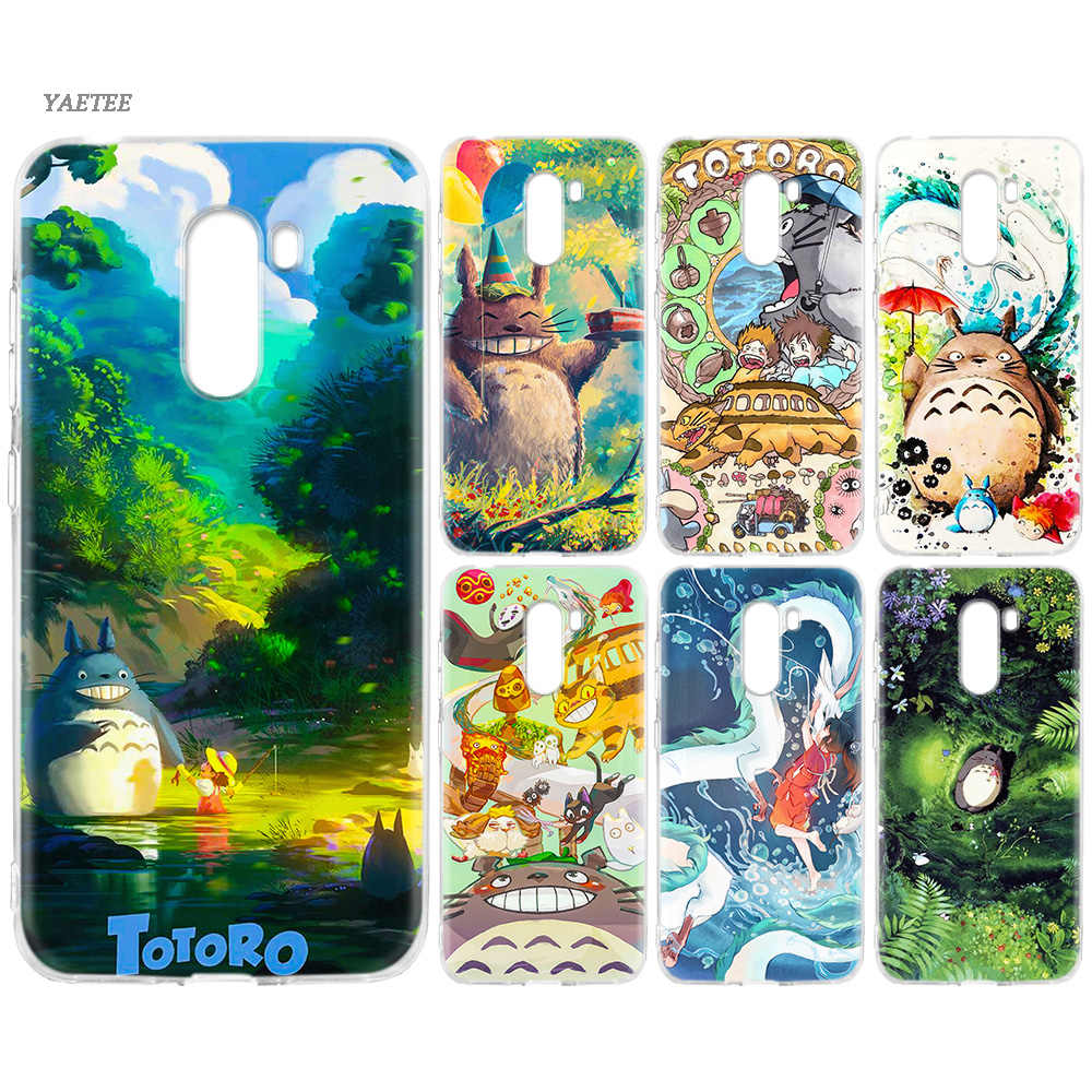 Studio Ghibli Spirited Away Totoro Case For Xiaomi Redmi S2 Y3 7A K20 Note 7 7S 6 Pro 5 4 4X Xiomi Mi F1 A2 8 Lite A1 5X Cover