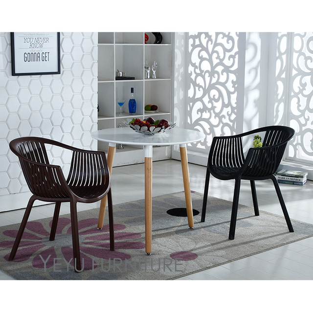 negozio online design moderno in plastica impilabile poltrona da ... - Design Soggiorno Pranzo 2