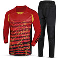 Hombres deportes Jerseys portero fútbol entrenamiento Rugby Survetement  fútbol Goal keeper uniformes trajes de impresión 7dd187d6a4d1e