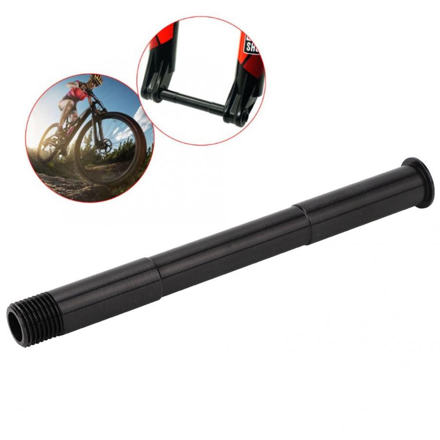 Mountain Bike Front Hubs Tube Shaft Bicycle Front Thru axle Axle Lever 100x15mm for ROCK SHOX Fork Bicycle Accessory(China)