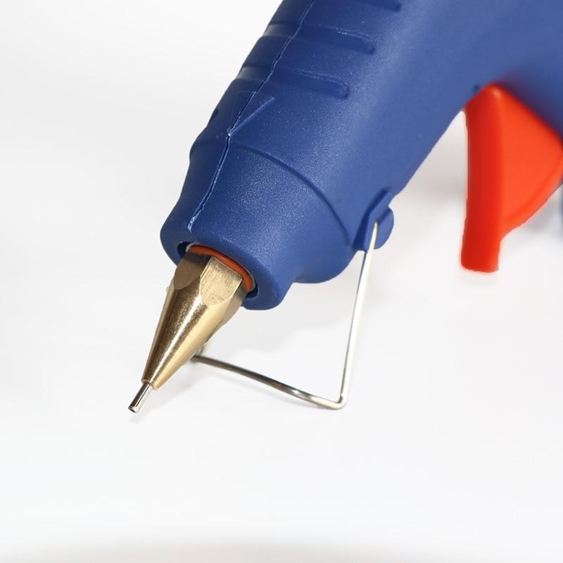 EU Plug Hot Melt Glue Gun 40W 60W Mini Glue Gun Graft Repair Heat Gun Pneumatic DIY Tools with 5 Pcs Glue Sticks, Free Shipping