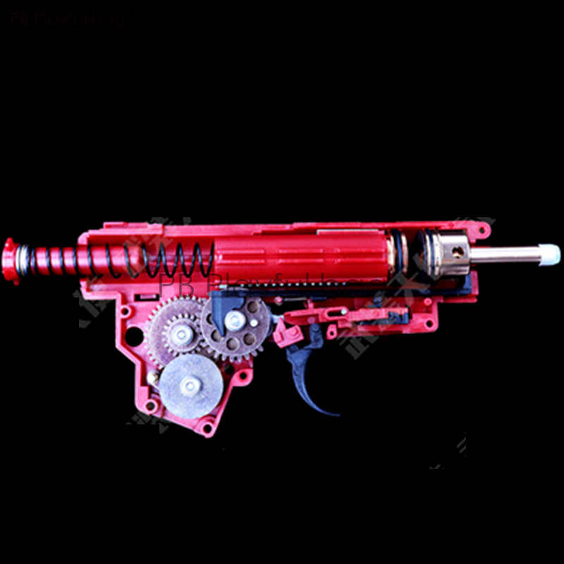 Cs toys مسدس رصاصة الماء الأحمر صندوق لونجبو رقم 3 أكار تعديل AK النايلون فاصل غلاف 47 ترقية المواد والعتاد CP ND29