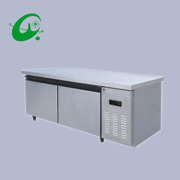TD0.25L2D Kitchen Refrigerator,freezers,Six Single-temperature Freezers,1.5 M Frozen Workbench