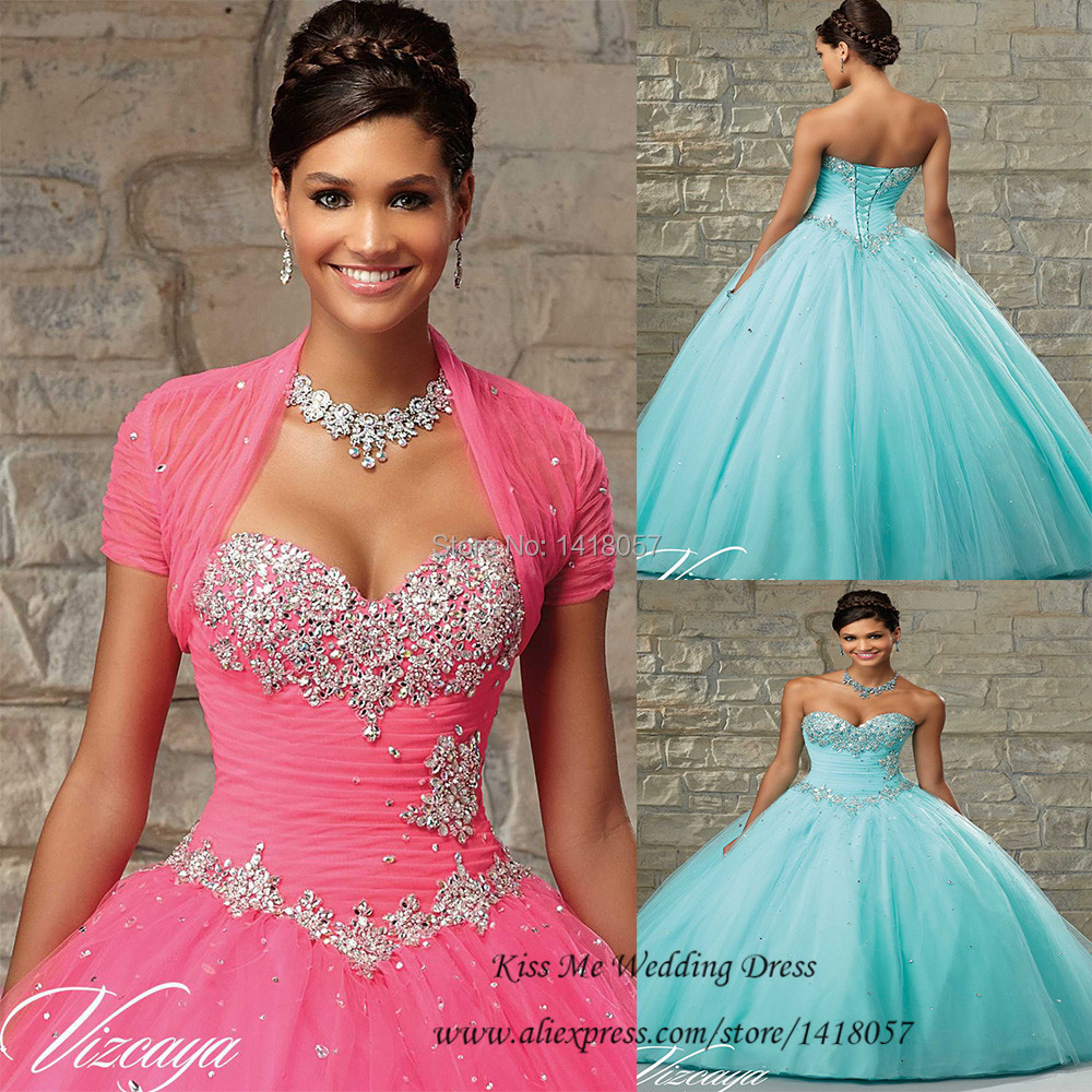 Sweet 16 Dresses Sage Cheap Quinceanera Gowns with Jacket Crystals Vestidos de Quinceanera Dresses Ball Gowns