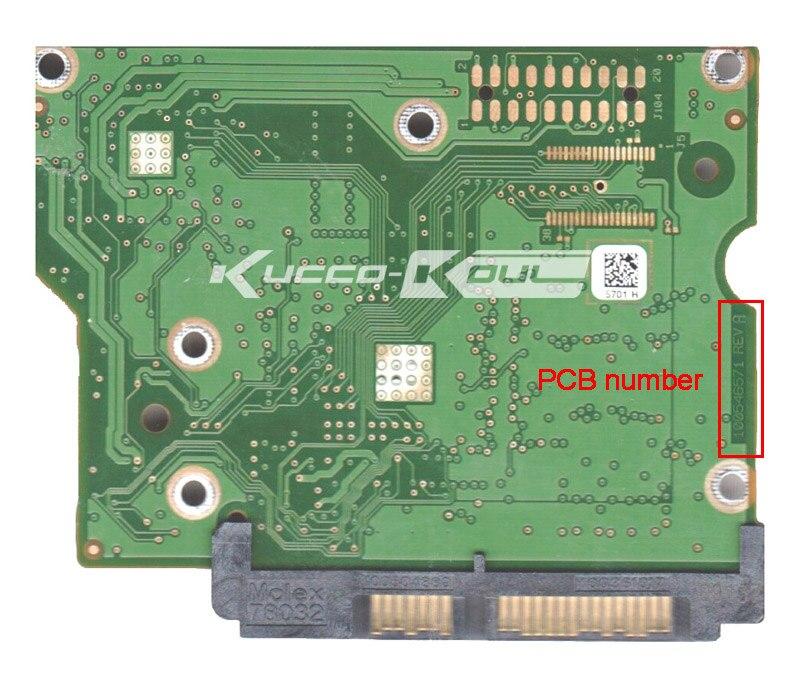 hard drive parts PCB logic board printed circuit board 100546571 for Seagate 3.5 SATA hdd data recovery hard drive repair