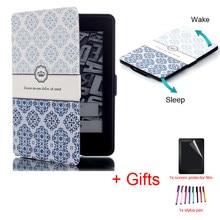 f9fdb60d6b358 Inteligente de Dobramento da Caixa Magnética para Amazon Kindle Paperwhite  1 2 3 6 polegada Tablet Auto Sleep Wake Ultra Slim ca.