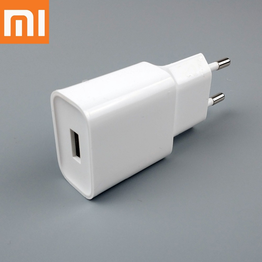 Original XiaoMi Mi 8 Charger Quick Fast QC3.0 1.5A EU Wall Charge Power Adapter For MI Note 3 Mix 2S 2 Mix Mi 6 A2 A1 Smartphone