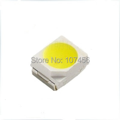 2000pcs/lot +Free Shipping SMD 1210(3528) white smd LED Diode 3.0-3.4v Wholesale and Retail