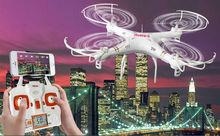 865C X865C RC zangão helicóptero com câmera HD de 2.4G 4CH WIFI FPV transmissão Em Tempo Real helicóptero RC quadcopter VS X705C
