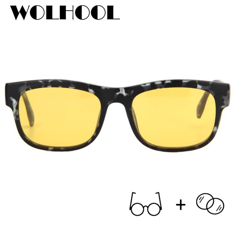 Sonnenbrillen Männer Magnetische Titan 2 Brillen 03 Auf 1 Clip Frauen Mode Polarisierte In Rahmen Myopie OT7BqqAc1