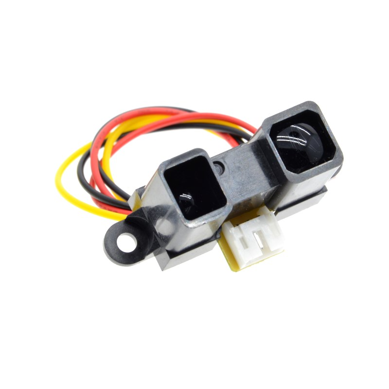 Image 2 - GP2Y0A710K0F 100% NEW SHARP 2Y0A710K 100 550cm Infrared distance sensor INCLUDING WIRES-in Integrated Circuits from Electronic Components & Supplies