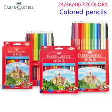 цена Faber Castell 72 Colored Pencils Lapis De Cor Professionals Artist Painting Oil Color Pencil For Art School Student Sketch Paint онлайн в 2017 году