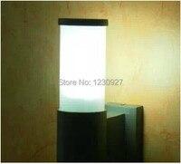 3W LED outdoor Garden lights corridor lamp Single head acrylic waterproof aluminum tube wall lamp
