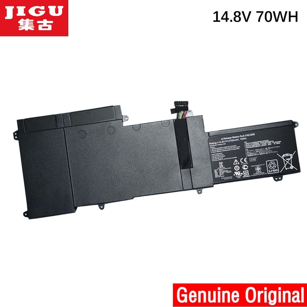 JIGU Original Laptop Battery C42-UX51 For ASUS U500VZ UX51 SERIES UX51VZ UX51VZ-1A CN035H UX51VZA