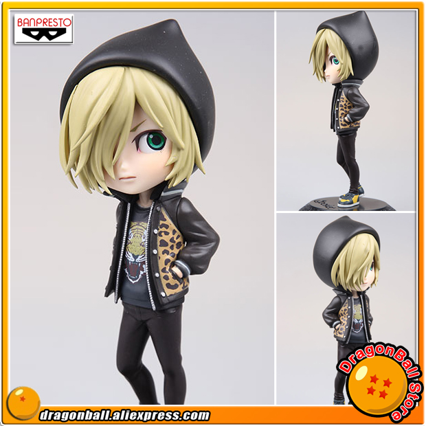 Anime YURI!!! on ICE Original Banpresto Q Posket Prince Collection Figure - Yuri Plisetsky (Normal Color Version) anime yuri on ice cosplay yuri plisetsky cos 2017 new shoulder bag student canvas backpack birthday gift