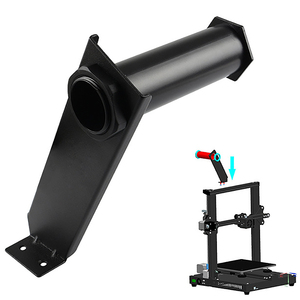 Image 5 - 3D Printer Accessories Hanging Pipe Rack Assembly Material Rack Assembly With Nut Universal Cr 10S Cr 10S4 Hotend Trianglelab