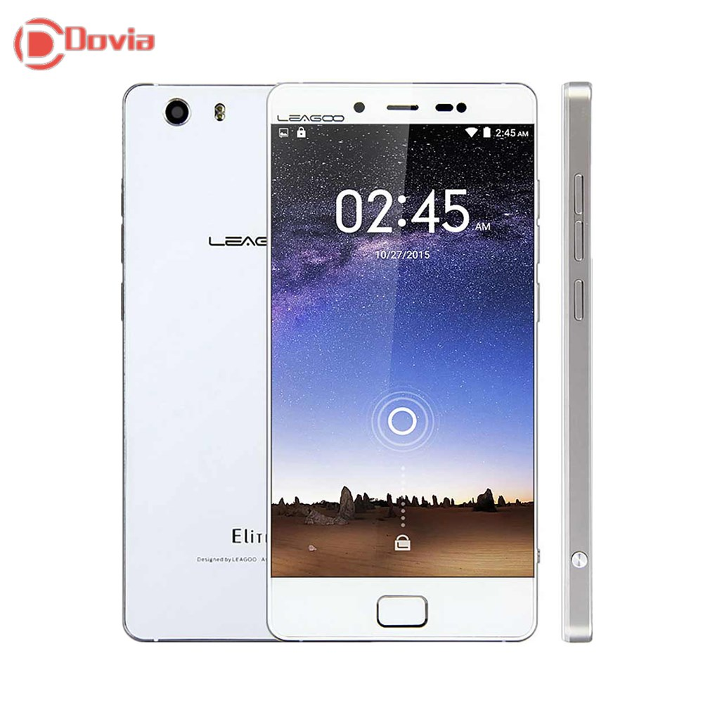LEAGOO Elite 1 Android 5.1 4G Smartphone 5.0 inch Gorilla Glass 3 Screen MTK6753 Octa Core 3GB +32GB 13.0MP Camera Mobile Phone