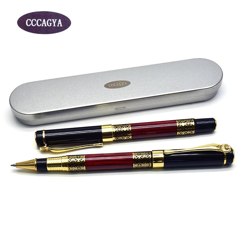 CCCAGYA A325 китайский металлическая гелевая ручка 0,5 мм Совет узнать офисные школьный канцелярский подарок роскошные ручки гостиничный бизнес ...