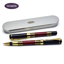 CCCAGYA C035 Office & School Supplies new arrival 0.5mm nib Blue and white porcelain copper ballpoint pen High-end gift pen цена