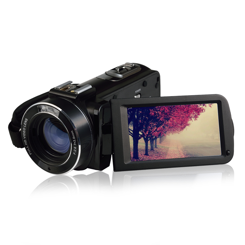 ORDRO Z20 Full HD Digital Video Camcorder Camera DV 1080P Max 24MP 3LCD 16X ZOOM with Microphone цена