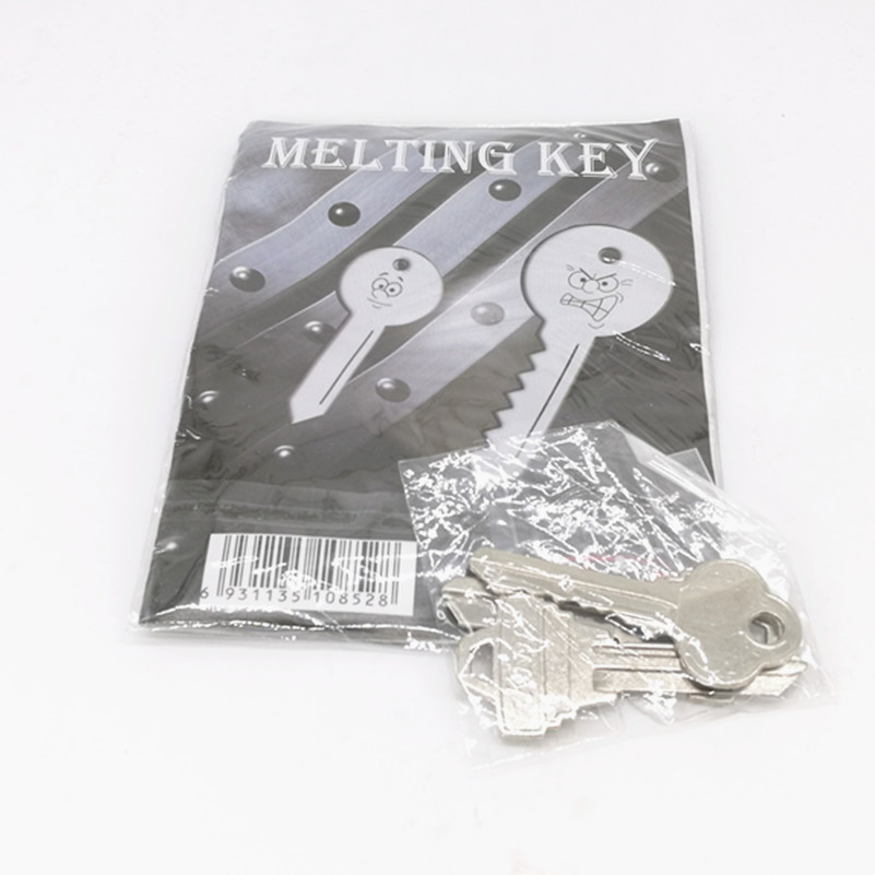 WOW-HOT Classic Magic Trick Keys Toy Melting Key Copy Finger Memory Magic Props Key,Street Stage Close-up Stage Magic Joke Prop цена