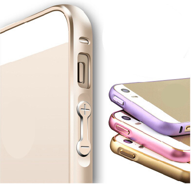 Luxury Brand New Gold For iPhone 5S 5 S SE Bumper Case Aluminium Metal Frame Cover Mobile Phone Case For Apple iPhone SE